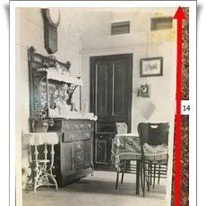 Fotografía antigua: MUEBLES DE COMEDOR DE UN ESPAÑOL EN SAN JUAN DE PUERTO RICO. 1920. Lote 240819500