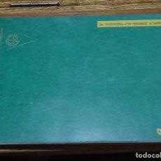 """Fotografía antigua: ALBUM FOTOS ESCRITOS Y RECORTES """"LA GUINGUETA-JOU-ESTERRI D'ANEU""""1959. Lote 241818220"""