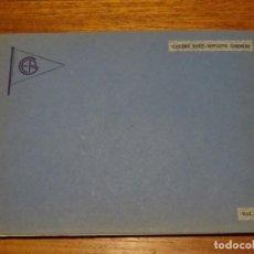 """Fotografía antigua: ALBUM FOTOS ESCRITOS Y RECORTES """"CALDES BOHI-ESTANYS GEMENES"""" 1955. Lote 241818895"""