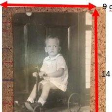 Fotografía antigua: MI PADRE EN TRICICLO. ESPAÑOLES EN PUERTO RICO, SAN JUAN. 1923. Lote 242053840