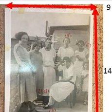 """Fotografía antigua: ESPAÑOLES EN PUERTO RICO, """"MUJERES PUERTORRIQUEÑAS"""" SAN JUAN. AÑO 1921. Lote 242055830"""