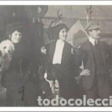 Fotografía antigua: FOTO DENTISTA TURCO ARMENAK CHERIGIAN NIGOGOSS ESPOSA MARIA VALÉS E HIJA. 1909 ORENSE. Lote 242070650