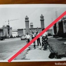 Fotografía antigua: ANTIGUA FOTOGRAFÍA. BARCELONA. FOTO AÑOS 50.. Lote 243872505
