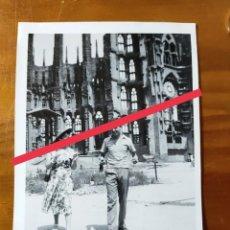 Fotografía antigua: ANTIGUA FOTOGRAFÍA. BARCELONA. FOTO AÑOS 50.. Lote 243876555