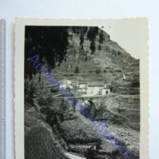 Fotografía antigua: PUENTE DE TEROR. GRAN CANARIA 1933. (9 X 6,5 CM). Lote 243879520