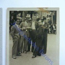 Fotografía antigua: PARQUE DE CERVANTES. LAS PALMAS DE GRAN CANARIA 1934. (7 X 5 CM). Lote 243887785