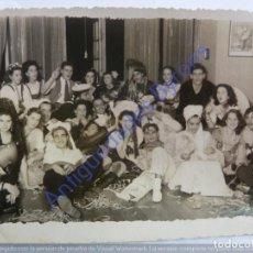 Fotografía antigua: CARNAVAL. LAS PALMAS DE GRAN CANARIA. AÑO 1947 (11,5 X 8,5 CM) FOTO CASTILLO. Lote 243889230