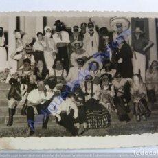Fotografía antigua: CARNAVAL. LAS PALMAS DE GRAN CANARIA. AÑO 1947 (11,5 X 8,5 CM) FOTO CASTILLO. Lote 243889455