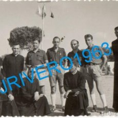 Fotografía antigua: FOTOGRAFÍA JEFES DE CAMPAMENTO DE LA ORGANIZACIÓN JUVENIL ESPAÑOLA OJE - FRENTE JUVENTUDES - FALANGE. Lote 244398365