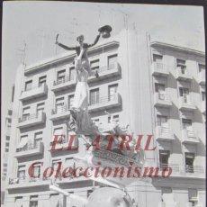 Fotografía antigua: VALENCIA - FALLAS - ANTIGUO CLICHE NEGATIVO DE 35 MM EN CELULOIDE. Lote 244484930