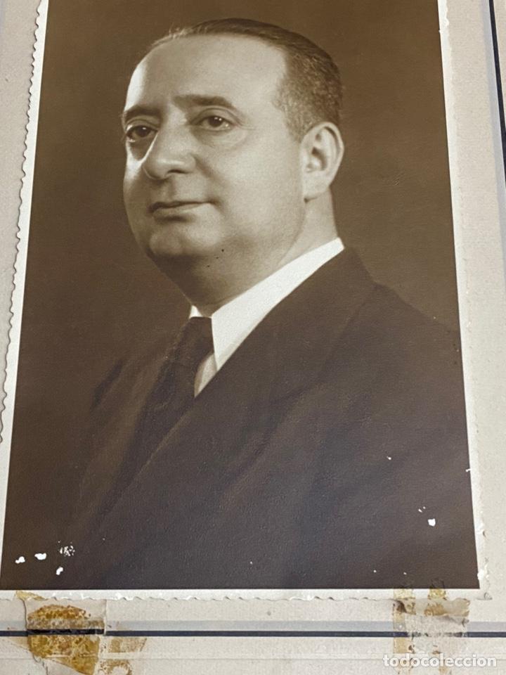 Fotografía antigua: FERNANDO RODRÍGUEZ FORNOS. FOTOGRAFÍA CON DEDICATORIA Y FIRMA. SALAMANCA-VALENCIA. 1950 - Foto 2 - 244556745