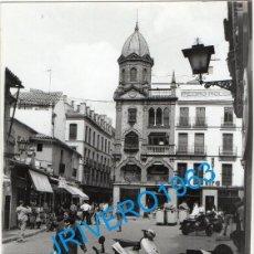 Fotografía antigua: SEVILLA, ANTIGUA FOTOGRAFIA DE LA PLAZA DEL PAN, 88X126MM. Lote 245257805