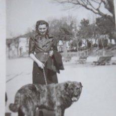 Fotografía antigua: FOTOGRAFÍA SEÑORA. ORENSE 1938. Lote 246158375