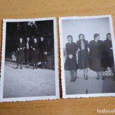 Fotografía antigua: FOTOGRAFÍAS SEÑORA FALANGISTA. ORENSE GUERRA CIVIL ERNESTO SCHRECK. Lote 246159465