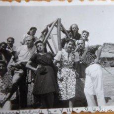 Fotografía antigua: FOTOGRAFÍA JUNQUERA DE AMBÍA. 1942. Lote 246161455