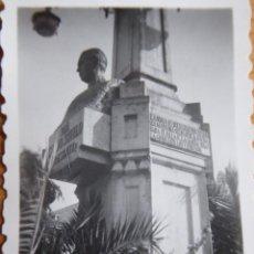 Fotografía antigua: FOTOGRAFÍA MONUMENTO CALVO SOTELO PRESENTE. ORENSE. Lote 246162480