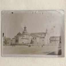 Fotografía antigua: ANTIGUA FOTOGRAFÍA DE LA IGLESIA DE SAN PASCUAL BAILÓN. ORDEN DE LOS MENORES. VILLARREAL.. Lote 246178255
