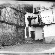 Fotografía antigua: NEGATIVO CELULOIDE ANTIGUO CANDELARIO? SALAMANCA SOBRE 1940. Lote 247034670