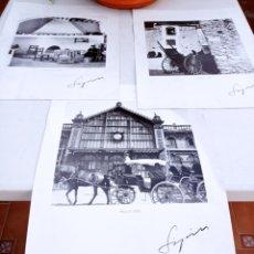 Fotografía antigua: ALMERÍA FOTOGRAFÍAS PEREZ SIQUIER LOTE DE 3. Lote 248426805