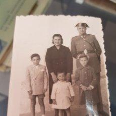 Fotografía antigua: ANTIGUA FOTOGRAFIA MILITAR GUARDIA CIVIL RUBIO ZARAGOZA. Lote 249116610