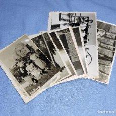 Fotografía antigua: LOTE DE FOTOGRAFIAS DIVERSAS AÑOS 40/50 GIL ROCA FOTO MAS FOTO RIAU. Lote 251822025