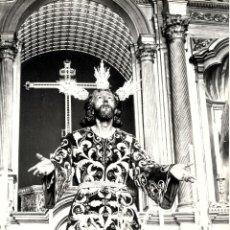 Fotografía antigua: SEVILLA-SEMANA SANTA-CRISTO DE MONTESION-MEDUDAS 14,50X 10. Lote 252019650
