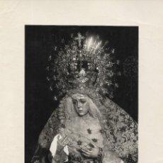 Fotografía antigua: SEVILLA-SEMANA SANTA-LA ESPERANZA MACARENA-FOTO CUBILES-TAMAÑO FOTO 17X12. Lote 252091105