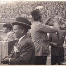 Photographie ancienne: TAUROMAQUIA - TOROS - EL PADRE DE LOS DOMINGUIN 1945. Lote 252123180