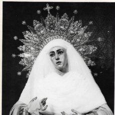 Fotografía antigua: SEVILLA-SEMANA SANTA-LA VIRGEN DEL MUSEO-TAMAÑO FOTO 16,50X11,50. Lote 252727450