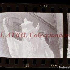 Fotografía antigua: VALENCIA - FALLAS - 2 CLICHES NEGATIVOS DE 35 MM EN CELULOIDE. Lote 253428950