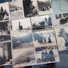 Fotografía antigua: LOTE FOTOGRAFIAS ANTIGUAS AVILA GREDOS GUISANDO LOMOVIEJO. Lote 254488940