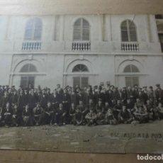 Fotografía antigua: MAGNIFICA ANTIGUA FOTOGRAFIA ESPARRAGUERA ESCURSION A LA PUDA. Lote 254986455