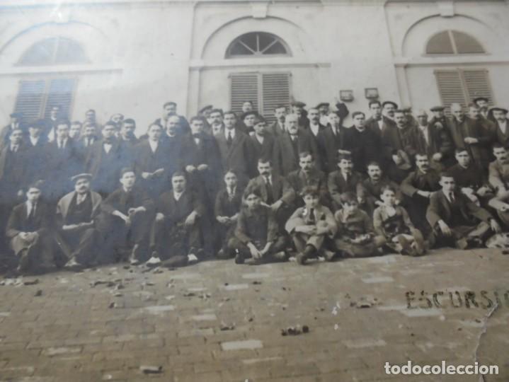 Fotografía antigua: magnifica antigua fotografia esparraguera escursion a la puda - Foto 4 - 254986455