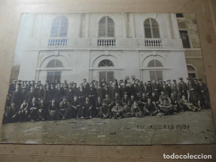 Fotografía antigua: magnifica antigua fotografia esparraguera escursion a la puda - Foto 5 - 254986455