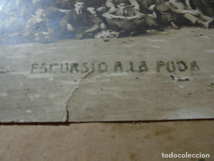 Fotografía antigua: magnifica antigua fotografia esparraguera escursion a la puda - Foto 8 - 254986455