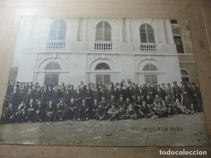 Fotografía antigua: magnifica antigua fotografia esparraguera escursion a la puda - Foto 9 - 254986455
