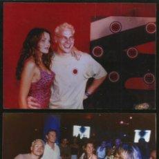 Fotografía antigua: 210 - JACQUES VILLENEUVE & DANNI MINOGUE - LOT DE 2 FOTOS DE PRENSA 18X13CM C/U 1990'. Lote 257861715
