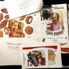 Fotografía antigua: PRUEBAS PUBLICITARIAS PARA COOPERATIVA PANADERA SAN PEDRO. ÚBEDA (JAÉN). 1986. PANADERÍA.. Lote 260270855
