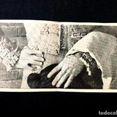 Fotografía antigua: TORERO. INTERESANTE FOTOGRABADO PUBLICITARIO DE GRAN FORMATO (40 X 20 CM). 1977.. Lote 260271020