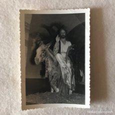 Fotografía antigua: SEMANA SANTA JAEN - SANTISTEBAN DEL PUERTO. PASO DE CRISTO. Lote 262209385