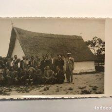 Fotografía antigua: VALENCIA BARRACA, FOTOGRAFÍA. GRUPO DE ANTIGUOS COMPAÑEROS DE MILI... (A.1951). Lote 262970165