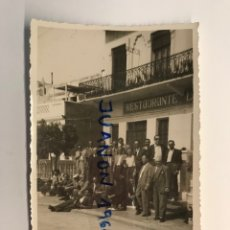 Fotografía antigua: VALENCIA LA MARCELINA, FOTOGRAFÍA. GRUPO DE ANTIGUOS COMPAÑEROS DE MILI... (A.1951). Lote 262971480
