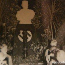 Fotografía antigua: ALEMANIA ENTIERRO DE HINDENBURG - JUVENTUDES HITLERIANAS 1934 - FOTOGRAFIA ORIGINAL FRANCE PRESSE. Lote 262978790