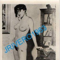 Fotografía antigua: ANTIGUA FOTOGRAFIA DESNUDO FEMENINO MUJER EROTICA 88X128MM. Lote 262988610