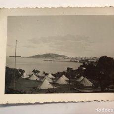 Fotografia antica: CEUTA MILITAR. FOTOGRAFÍA MONTE INGENIEROS CAMPAMENTO.. (A.1940) LEYENDA EN SU ANVERSO... Lote 263054030