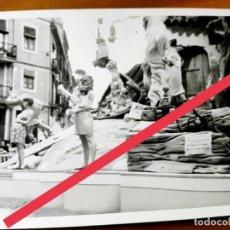 Fotografía antigua: ANTIGUA FOTOGRAFÍA. FALLA CONVENTO JERUSALÉN. FALLAS DE VALENCIA. FOTO AÑOS 60.. Lote 263268205