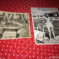 Fotografia antiga: ALCOY - FOTOGRAFÍAS ORIGINALES - 1948 Y 1953 - DÍA EN LA FONT ROJA Y DÍA DE PISCINA. Lote 267416194