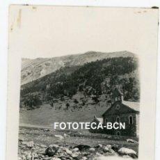 Fotografía antigua: FOTO ORIGINAL VALL DE NURIA SANTUARIO IGLESIA AÑO 1931. Lote 267595129