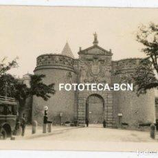 Fotografía antigua: FOTO ORIGINAL TOLEDO PUERTA NUEVA DE BISAGRA AÑO 1929. Lote 267604399