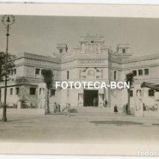 Fotografía antigua: FOTO ORIGINAL SEVILLA EXPOSICION IBERO AMERICANA PABELLON MEXICO AÑO 1929. Lote 267604724